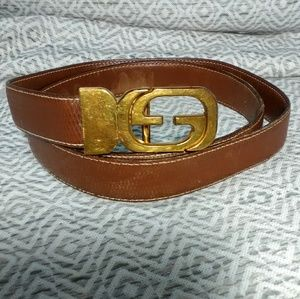 Authentic Gucci Vintage Belt